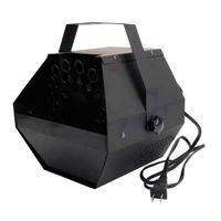 Быстрая доставка 25 Вт AC110V Мини пузырьковый станок легко носить сценическое освещение для свадьбы / бар / стадии черного оптом