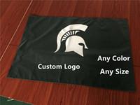 Direkte Fabrik Spartans 90x150cm 3x5ft benutzerdefinierte Druckflag-Banner mit Ihrem Logo-Design benutzerdefinierte Logo-Flagge anpassen Flagge