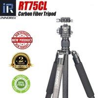 RT75Cl 10 Camadas Fibra Carbono Tripé Profissional Monopé com Panoramic Baixa Gravity Center Ball Head para Digital DSLR Camera1