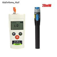 Faseroptikausrüstung 2 in 1 ftth Tool Kit Mini Optical Power Meter -70 bis + 6DBM OPM und 20 MW Visual Fault Locator Test Pen1