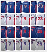 2020-21 City Blue Blake 23 Griffin Killian 7 Hayes Derrick 25 Rose Jerami 9 Grant Jerseys Basketball Edition
