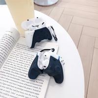 브랜드 PS5 게임 콘솔 핸들 3D Airpods 1 2 Pro 충전 상자 소프트 실리콘 무선 블루투스 이어폰 보호 커버 케이스 MQ30
