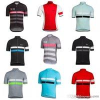 Rapha Team Велоспорт Короткие рукава Джерси Летние Мужские Велосипедные Джерси Быстросухие Короткие Рубашки Короткие Рубашки Велосипед Одежда S21012860