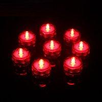 Свеча Света Светодиодные Водонепроницаемые Водонепроницаемые Чайные Света Батареи Отделочная Свеча Свадьба Рождество Высокое Качество Украшения Свет