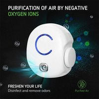Conector Mini Purificador de aire iónico Ozono Generador Portable Olor Eliminador Eficiencia ajustable