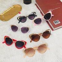 نظارات شمسية شارع الأزياء المفاجئة نظارات الطفل المعدنية عين القط 2012 في أوروبا والأجواء المتحدة 1