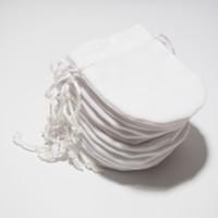 시작 10pcs 흰색 교체 쥬얼리 파우치 가방 판도라 매력 구슬 목걸이 귀걸이 링 펜던트 포장 새로운 도착