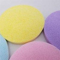 لينة مضغوط الإسفنج الوجه تنظيف الإسفنج الوجه غسل تغسل الوسادة مقشر التجميل نفخة الوجه تنظيف النفخة WQ352