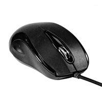 الفئران MF-588 العالمي مريح 3 مفاتيح ماوس الألعاب السلكية للكمبيوتر المحمول الكمبيوتر 1
