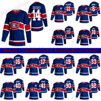 Les Canadiens de Montréal 2021 Jersey Retro Retro 14 Nick Suzuki 6 Shea Weber 31 Carey Prix 11 Brendan Gallagher 15 Kotkaniemi Hockey Jerseys