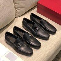20ss Marcas de lujo para hombre Zapatos de vestir de cuero genuino Punta de punta de punta de punta Vintage fiesta Derby Oxford zapatos para hombres