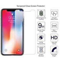 2021 9h 2.5D Filme protetor de tela de vidro temperado para iPhone 12 mini 11 pro x xs max xr 8 7 6 mais natal