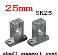ベアリング交換用品MROオフィススクールビジネス工業ドロップデリバリー2021卸売 -  SK25 SH25A 25mmリニアレールシャフトサポート