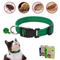 Cat Hundefloh-Kragen-Floh- und Tick-Kragen-Nylon Anti-Pest-Lüse-Halsbänder töten Lice Parasit-Deworming für kleine mittelhundige Katze1