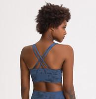 Afk_lu Sutyen Blok Renk 6 Çizgiler Push Up Yoga Sutyen Eğitim Spor Giyim Kadın Spor İç Giyim