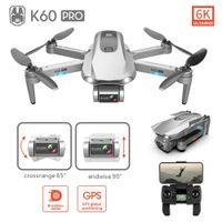 LSRC جديد K60PRO 6 كيلو البسيطة بدون طيار زاوية واسعة wifi fpv كاميرا الطائر الطيار ارتفاع وضع rc طوي كوادكوبتر درون بوي لعبة هدية 201208