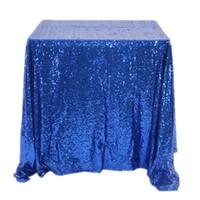 Степторы русалок Скатерть квадратный чистый цвет домашней мебели Статьи Статьи настольные Ткани горячие продажи с разным цветом 47QQ2 J1
