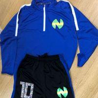 Hombres Niños Survetements De Foot Blue Capitán Tsubasa Soccer Traje Jersey Jersey Pantalones Pantalones Oliver Atom Training 201204