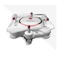 Drones Flytec T16 Складной Pocket Pocket RC Drone Quadcopter Высокая четкости Wi-Fi Пульт дистанционного управления Самолет Пасфорация Оптический Поток Поток