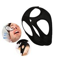 Anti-Snoring Chin Strap StopSnoring Device Snoring Cessation Adjustable Snore Reduction Belt Sleep Aids for Men Women 1Pcs