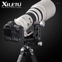 Treppied Heads Xiletu XGH-3 Professionale Professional Duty Duty Duty Gimbal Supporto panoramico a 360 gradi per fotocamera DSLR Telepo Lens1
