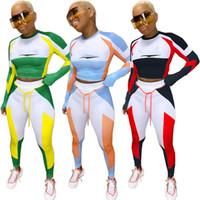 Kadınlar 2 Parça Set Hoodies + Tayt Uzun Kollu Eşofman S-2XL Kazak Spor Bodysuit Güz Kış Giyim Ücretsiz Sweetsuit 3965