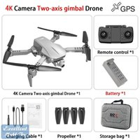 L106 PRO 4K Dual-Kamera 5G-WiFi 50x Zoom-Drohne, Simulatoren, 2-Achsen-Gimbal-Anti-Shake, GPS-Optische Fließpositionierung, Smart Follow, Niedrige Leistung, 2-2