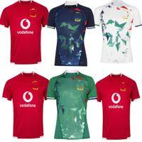 2021 British Irish Lions Rugby Jersey 21 22 Home Singlet Treinamento teste aquecer camisa tamanho S-5XL