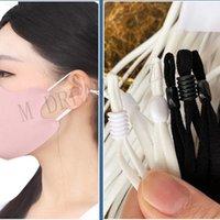 6 cordas de borracha 5mm cores bandas confortáveis faixa de boca redondo máscara de cordas de orelha cordão elástico diy máscaras acessórios