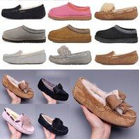 2021 الكلاسيكية بوم الأحذية عارضة قصيرة الثانية بيلي القوس أستراليا النعال إمرأة من جلد الغزال المرأة التمهيد الشتاء الثلوج الأحذية الفراء فروي الأسترالي بو G3WC #