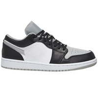 AJ 1 Low Basketball Shoes Jumpman basse 1 1s basket top OG giudiziali punta nera viola SP Travis Scotts uomini donne scarpe da tennis Eur 36-46 senza scatola