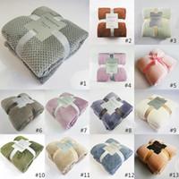 Couvertures de pollone de corail Jetez des couvertures Couverture de Pet Chambre Salon Salon Décorations Canapé Couverture 13 Style HHXD24332