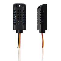 درجة الحرارة الرطوبة الاستشعار الرقمية كاشف AM2301 وحدة يمكن العمل مع GSM SMS تحكم المنبه RTU5023 / S270 / S271 / S272 Y1201