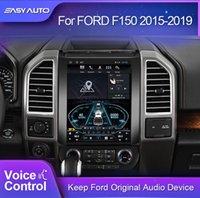 سيارة GPS الملحقات ل F150 رابتور 2012-2021 راديو الوسائط المتعددة فيديو لاعب التنقل أندرويد 9.0 4 + 64 جرام 2 الدين dvd بلوتوث adas dvr
