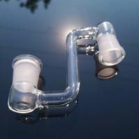 Adattatore a gliddown di vetro all'ingrosso 14mm 18mm maschio femmina di vetro a discesa Adattatori per il quarzo Banger Acqua Tubi di vetro Bongs DAB Pan Ittiglie olio