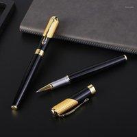 Guoyi C005 Baozhu caneta confortável sensação 0.5mm metal high-end de negócios presentes e logotipo corporativo personalizado assinatura Pen1