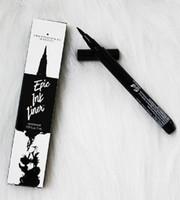 Sıcak NYX Kozmetik Skinny Eye Marker Su Geçirmez Siyah Sıvı Eyeliner Göz Kalemi Yapım Makyaj Maquiagem Uzun Ömürlü