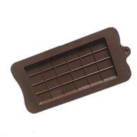 완전 초콜릿 금형 에폭시 수지 실리콘 24 그리드 스퀘어 초콜릿 금형 베이킹 와플 케이크 캔디 크래커 몰드 핫 세일 2 1dB L2