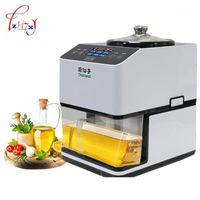 Pressers de petróleo JNZ-A-01 Aço inoxidável DIY máquina de imprensa Frio 12000r / min Sesame / amendoim / sementes de girassol Extractor1