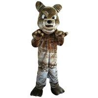 2018 novos trajes de mascote de bulldog de alta qualidade para adultos Circus Christmas Halloween Outfit Fancy Dress Suit Frete Grátis003