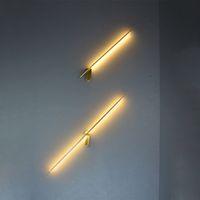 Moderne Linie Metall LED Wandleuchte Home Wohnzimmer Esszimmer Schlafzimmer Dekor Wandleuchte WA264