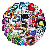 50pcs / 팩 핫 세일 게임 중 노트북 오토바이 스케이트 보드 컴퓨터 휴대 전화 데칼 만화 장난감을위한 낙서 스티커