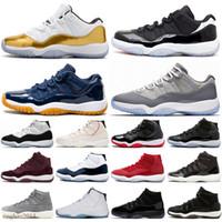 2021 Jubilee 25th Yıldönümü 11 Erkekler Basketbol Ayakkabı Yangın Kırmızı 4 Sneakers Bred 11s Gama Blue Concord Alan Reçel Siyah Kedi