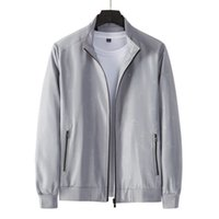 Mens mulheres jaquetas goo 100% algodão manga comprida ncbcbmc zipper casual slim tamanho asiático regular cor natural Uiujd pleas5sd5sj