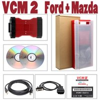 Alta qualidade Chip VCM II 2in1 Interface para - Ferramenta de Programação de Diagnóstico VCM2 VCMII OBDII Scanner VCM 2 IDS V106