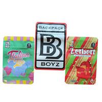 3.5g Sac à dos Boyz 33 sacs BB Sac Batman Red Tomyz Zerbert Italienne IT Italienne Package avec autocollants holografiques