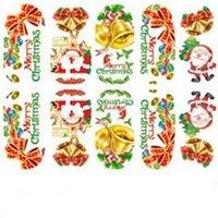 عيد الميلاد نمط مسمار ملصقا عيد الميلاد نوع الأظافر الفن ديكور تجهيري الشارات سنو فلاورالستير نمط سيدة مانيكير نصائح حار بيع 1ot L2