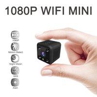 MINI 1080P IP WiFi Cámara Battary Sensor inalámbrico HD IR IR Vision Video Monitor de video Pequeño hogar Seguridad Vigilancia CAM1