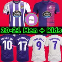 20 21 Real Valladolid Soccer Jersey 2020 2021 Fede S. R. Alcaraz Sergi Guardiola Óscar Plano Camisetas de Fútbol Men + Kids Football Shirts