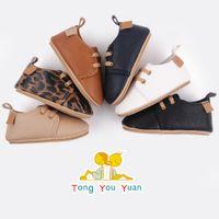 حرة dhl ins 6 ألوان ليوبارد الطفل الأول ووكر عارضة الرضع الأخفاف الأحذية الناعمة أحذية رياضية